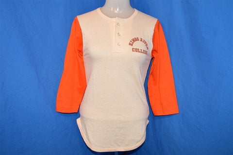 70s Kings River College Two-Tone Henley t-shirt Youth Medium