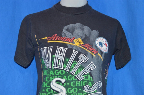 90s Chicago White Sox Wrap Around t-shirt Youth Large