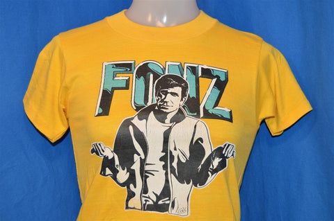 70s Happy Days The Fonz Iron On t-shirt Youth Large