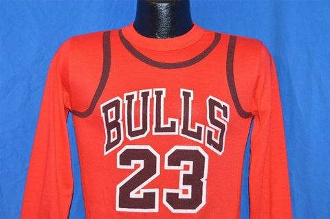 90s Chicago Bulls Michael Jordan Pajama Top t-shirt Youth Large