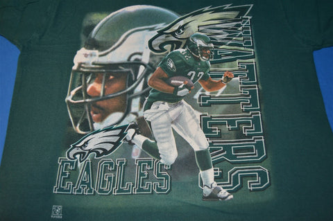 90s Philadelphia Eagles Ricky Watters Midnight Green t-shirt Youth Extra-Large 18-20