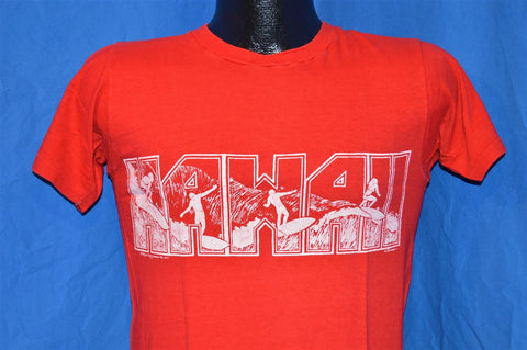70s Hawaii Surfing t-shirt Small