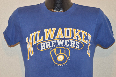 80s Milwaukee Brewers Old Champion t-shirt Extra-Small