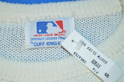 80s NWT Pittsburgh Pirates Cliff Engle Sweater Small