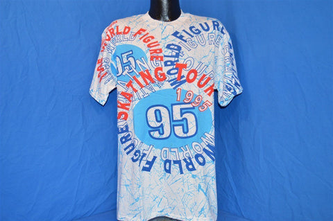 90s World Figure Skating Tour 1995 t-shirt Large