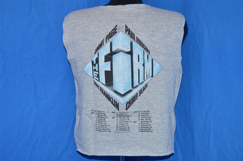 80s The Firm Supergroup Sleeveless Tour Sweatshirt Large