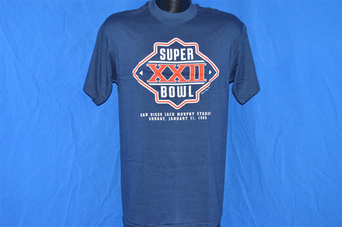 1988 Super Bowl XXII t-shirt Medium