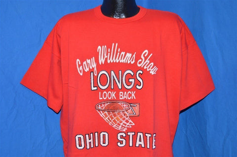 80s Ohio State Basketball Gary Williams Show t-shirt XXL