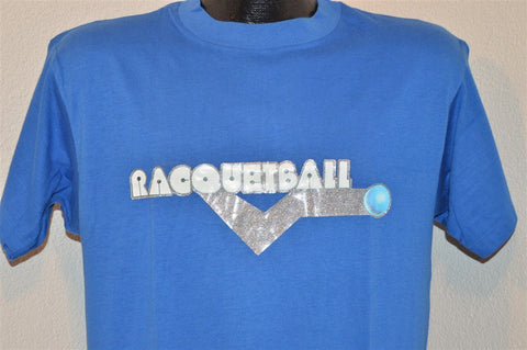 80s Racquetball Glitter Iron On t-shirt Medium