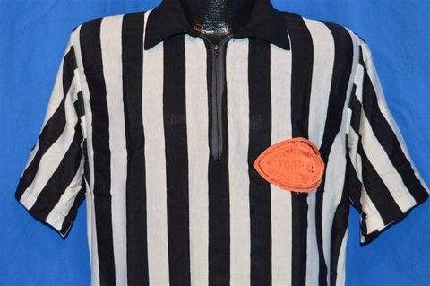 50s Referee Western Connecticut Football Jersey Large