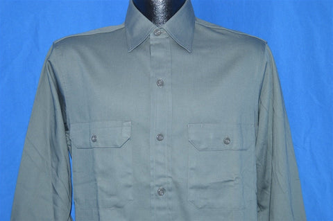 50s Big Mac Gray Work Shirt Medium