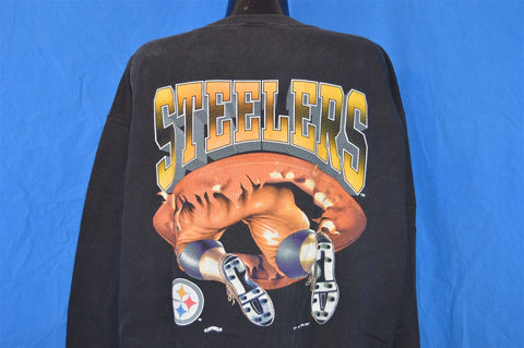 90s Pittsburgh Steelers 3D Graphic Sweatshirt Extra-Large