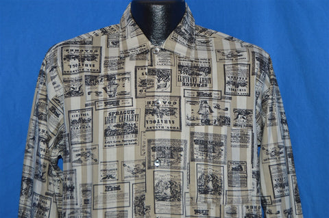 60s San Francisco Print Ads Deadstock Shirt Medium