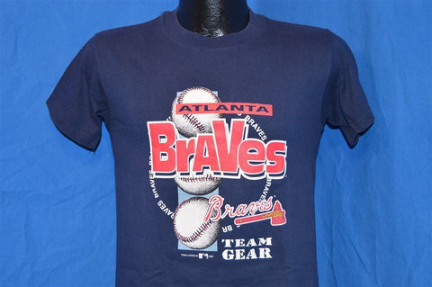 90s Atlanta Braves Team Gear t-shirt Small