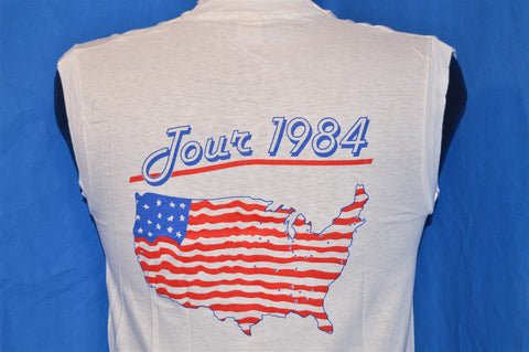 1984 John Cougar Mellencamp Uh Huh US Tour Sleeveless t-shirt Small