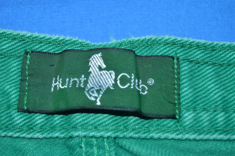 90s Hunt Club Green Denim Jean Shorts Size 38