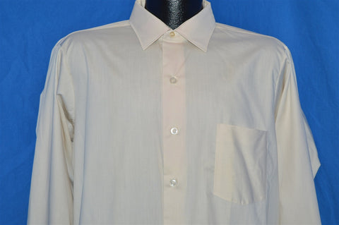 50s Sears Pilgrim White Gusset Deadstock Shirt Medium