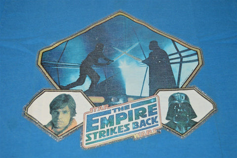80s Empire Strikes Back Glitter Iron On t-shirt Youth Medium