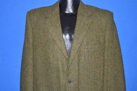 60s JC Penney's Towncraft Harris Tweed Sport Coat Jacket Large