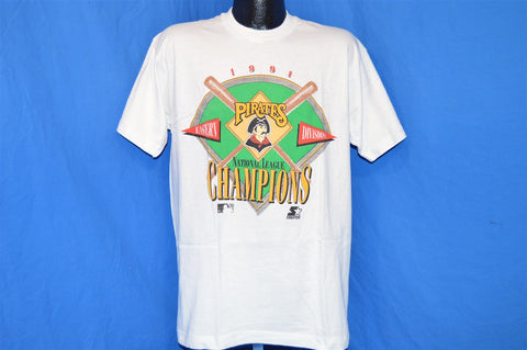 90s Pittsburgh Pirates NL Champions t-shirt Large