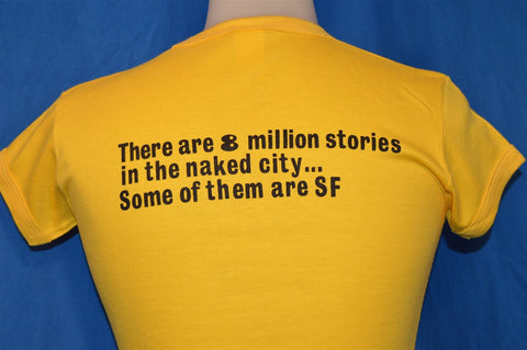80s Statue of Liberty Naked City New York NYC 1986 t-shirt Women's Small