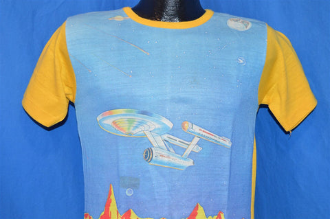 70s NEW Star Trek Enterprise Animated Series t-shirt Youth Large 16