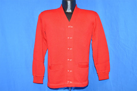 50s Campus Sportswear Blank Red Letterman Sweater Small