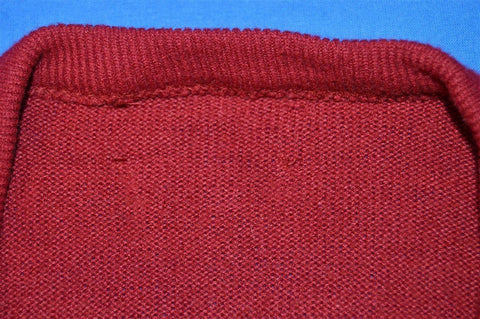 80s Izod Lacoste Maroon Pullover Sweater Large