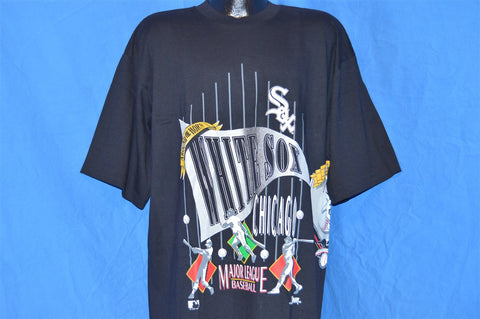 90s Chicago White Sox Wrap Around Two Sided t-shirt Extra-Extra-Large