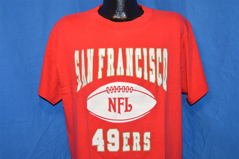 90s San Francisco 49ers NFL Football t-shirt Large