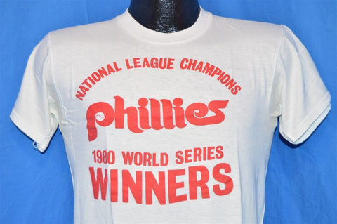 80s Philadelphia Phillies 1980 World Series Winners t-shirt Small