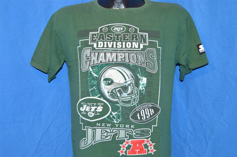90s New York Jets 1998 Eastern Division Champs t-shirt Youth Large