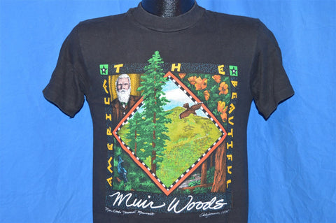 80s Muir Woods National Monument California t-shirt Small