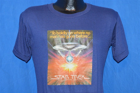 70s Star Trek the Movie Motion Picture Iron On t-shirt Small