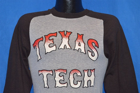 70s Texas Tech Red Raiders Jersey Ringer t-shirt Extra Small