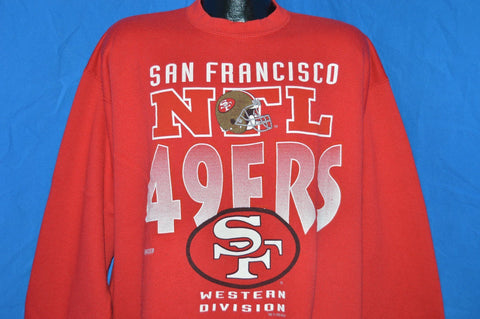 90s San Francisco 49ers Sweatshirt Extra Large