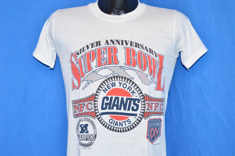 90s New York Giants Super Bowl XXV t-shirt Small