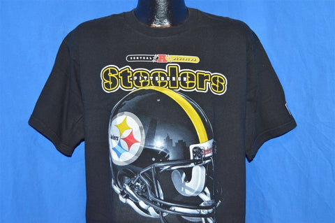 90s Pittsburgh Steelers Helmet Pro Player t-shirt Large