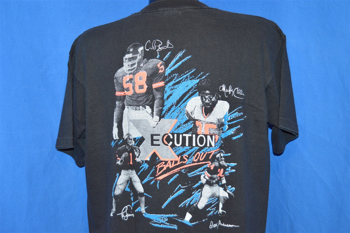 90s New York Giants Balls Out Dave Megget Otis Anderson Neon Black Vintage t-shirt Extra-Large moqCFLxw