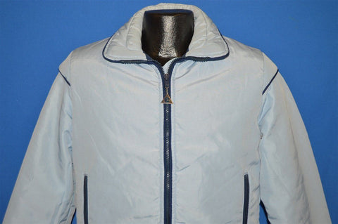 80s Light Blue Gerry G Ski Jacket Small