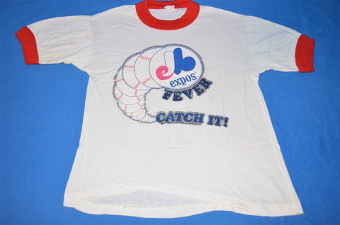 80s Montreal Expos Baseball Fever Iron On t-shirt Youth Small