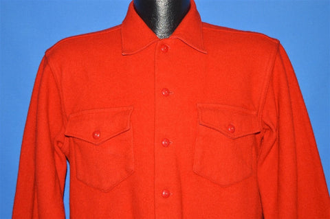 50s Great Western Garment Button Up Wool Jacket Medium