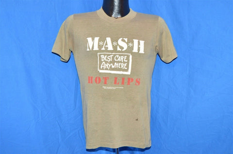 80s MASH Hot Lips TV Show Distressed t-shirt Small