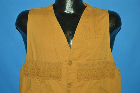 60s Redhead Brown Hunting Vest Medium