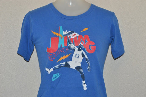 90s Nike Michael Jordan Frequency Jamming t-shirt Youth Medium