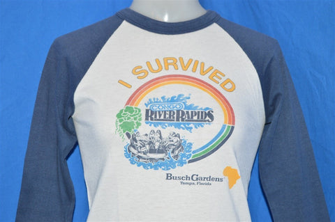 80s I Survived Congo River Rapids t-shirt Extra-Small