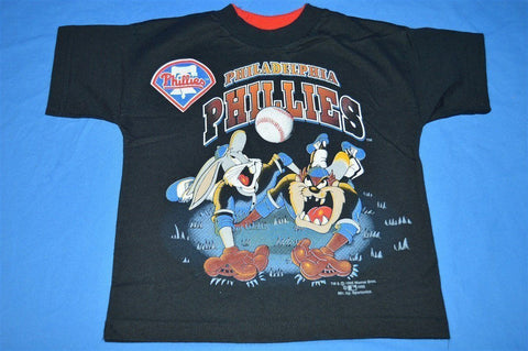 90s Philadelphia Phillies Looney Tunes t-shirt Youth Small