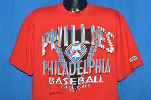 90s Philadelphia Phillies Baseball t-shirt Extra-Large