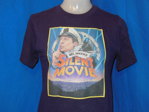 "70s Mel Brooks ""Silent Movie"" Iron On t-shirt Extra Small"