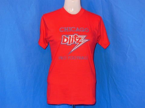 80s Chicago Blitz USFL Football t-shirt Extra-Small